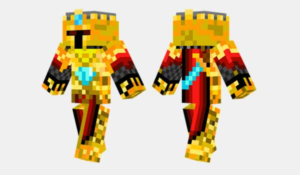 Gold Knight Skin