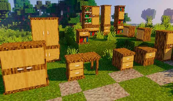 Macaw's Furniture 1.16.3 y 1.16.4