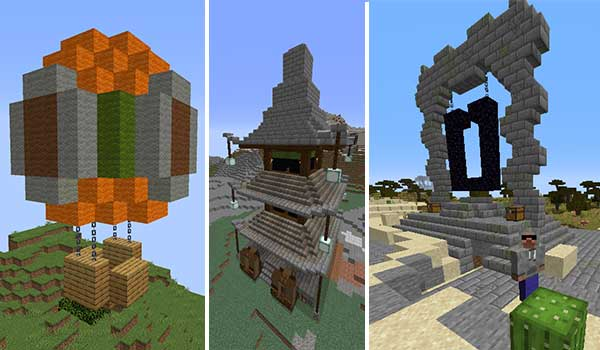Shrines Structures 1.16.3, 1.16.4 y 1.16.5