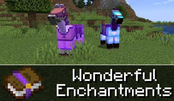 Wonderful Enchantments 1.16.1, 1.16.2, 1.16.3, 1.16.4 y 1.16.5