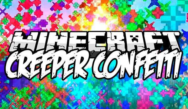 Creeper Confetti 1.16.1, 1.16.3, 1.16.4 y 1.16.5