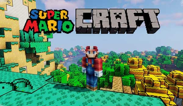 Super Mario Craft Texture Pack