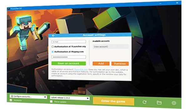 Imagen donde podemos ver cómo se pueden descargar versiones del juego desde Tlauncher
