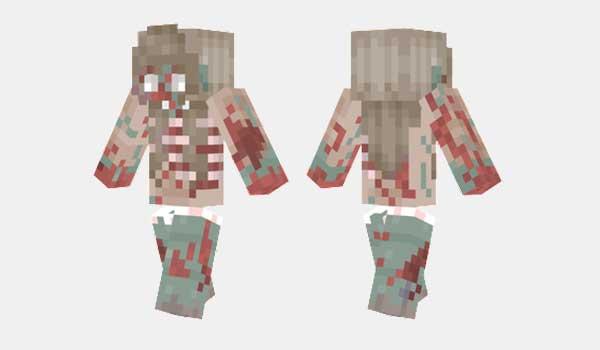 Zombie Girl Skin
