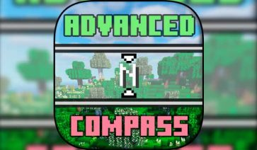Advanced Compass 1.16.2, 1.16.3, 1.16.4 y 1.16.5