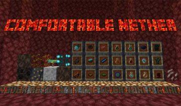 Comfortable Nether 1.16.4 y 1.16.5