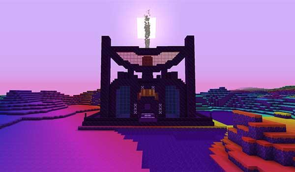 Imagen donde podemos ver una de las estructuras de mazmorra que añade el mod Hardcore Dungeons 1.16.3, 1.16.4 y 1.16.5.