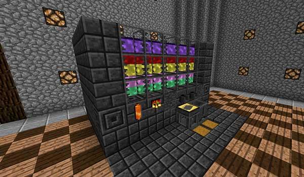 Imagen donde podemos ver la fundición que, nos permitirá fundir recursos minerales, añade el mod Tinkers Construct 1.16.5.