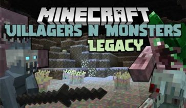 Villagers And Monsters 1.16.4 y 1.16.5