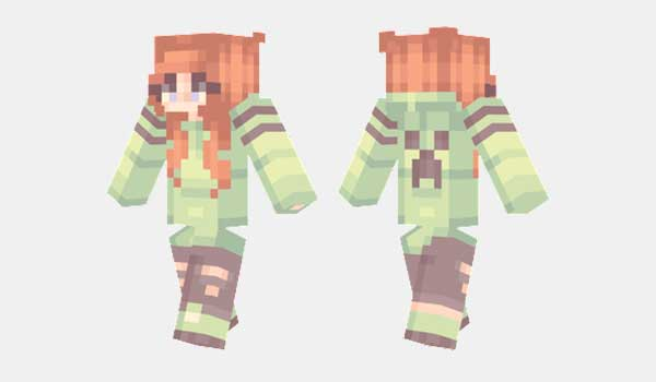 Creeper Girl Skin