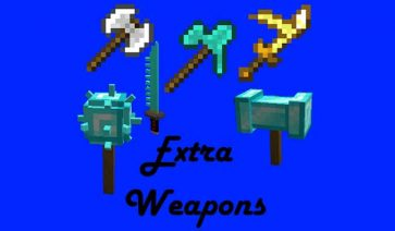 Extra Weapons 1.16.5
