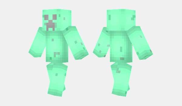 Mint Creeper Skin