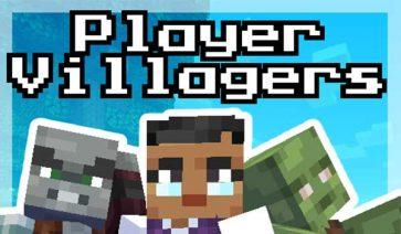 Player Villager Models Texture Pack