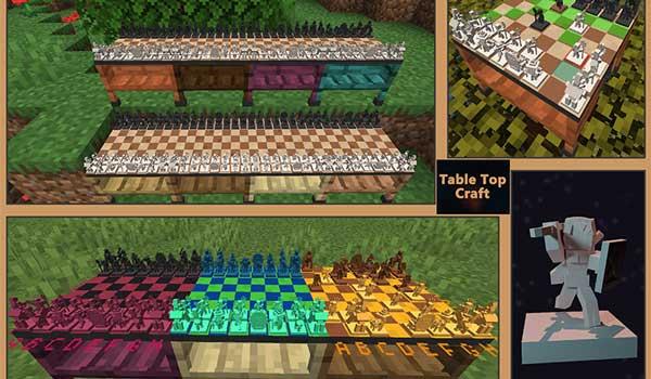 Table Top Craft 1.16.3, 1.16.4 y 1.16.5