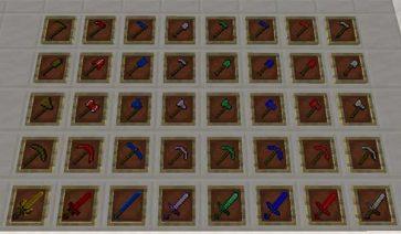 Armor, Tools & Ores Plus 1.16.5