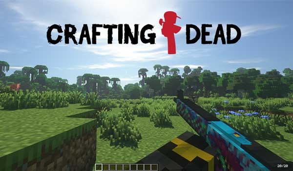 Crafting Dead 1.16.4 y 1.16.5