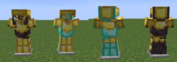 Imagen donde podemos ver la nueva armadura que nos permite fabricar el mod DiceMC Tiered Armors 1.16.1, 1.16.2, 1.16.3, 1.16.4 y 1.16.5.
