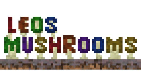 Leos Mushrooms 1.16.4 y 1.16.5