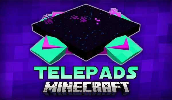 TelePads Mod 1.16.3, 1.16.4 y 1.16.5