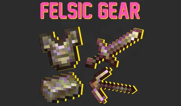 Felsic Gear 1.16.4 y 1.16.5
