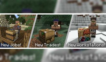 More Villagers 1.17.1
