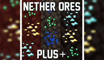 Nether Ores Plus 1.16.4 y 1.16.5
