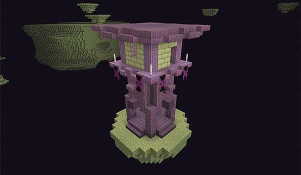 Imagen donde podemos ver una de las nuevas estructuras que generará el mod Dificultad Progresiva 1.17.1 de Majrusz.