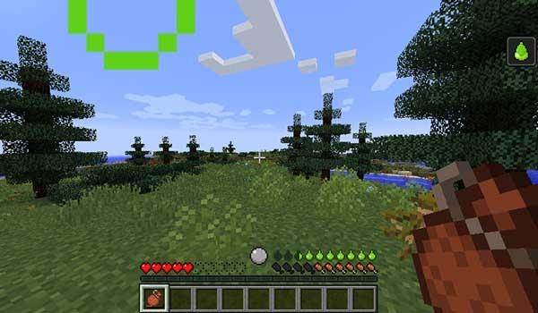 Imagen donde podemos ver un jugador utilizando la cantina de agua que nos ofrece el mod Tough As Nails 1.17.1.