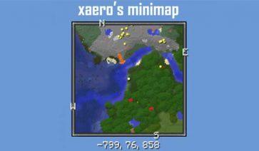 Xaero's Minimap 1.17.1