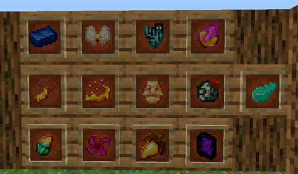Imagen donde podemos ver algunos de los minerales y objetos que encontraremos al instalar el mod Armventure 1.17.1.