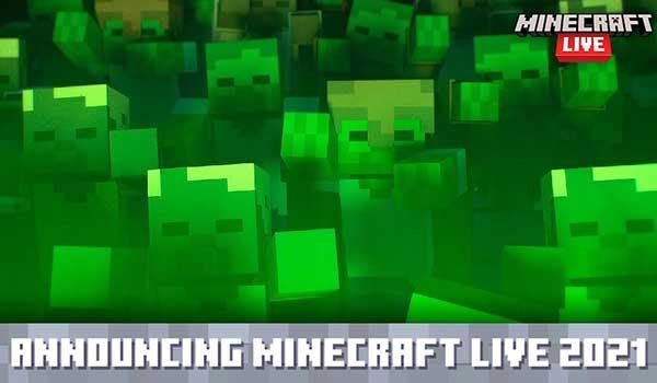 Fecha Minecraft Live 2021