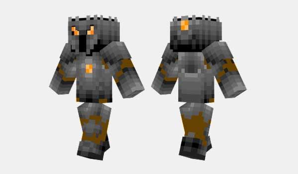 Orange Knight Skin