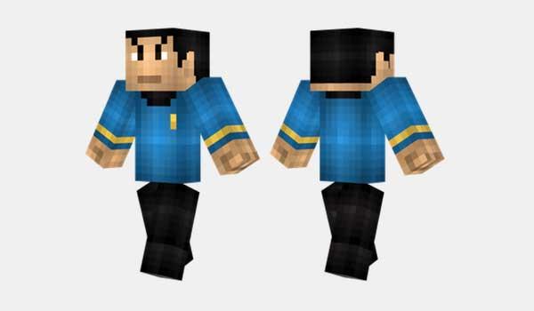 Spock Skin