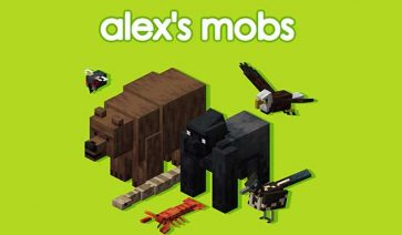 Alex's Mobs 1.17.1