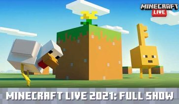 Vídeo de la Minecraft Live 2021